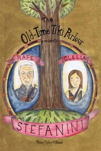 Old-Time Tiki Parlour DVD cover - Rafe and Clelia Stefanini
